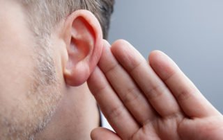 Shhh-knowing when to listen--man listening